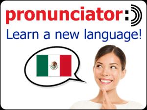 pronunciator language learning software image
