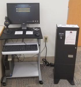Wireless Print Release Station