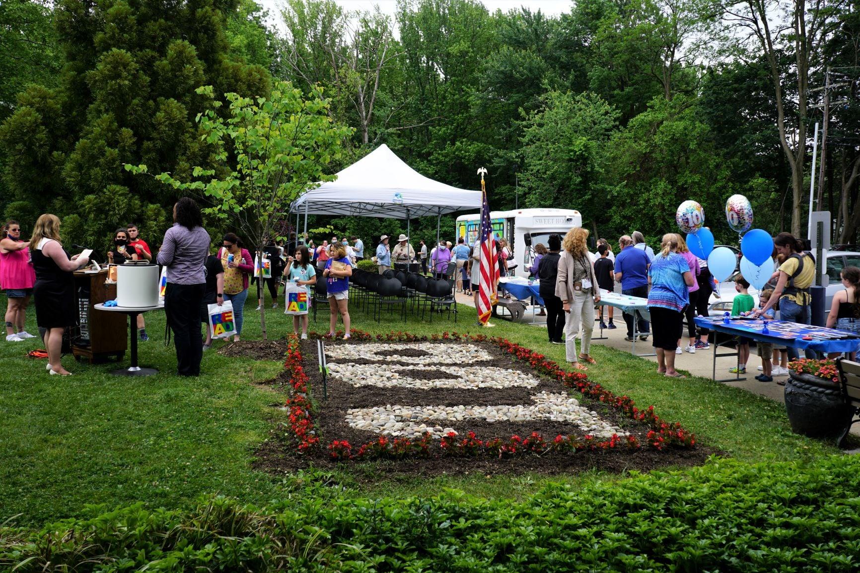 100th anniversary outdoor celebration