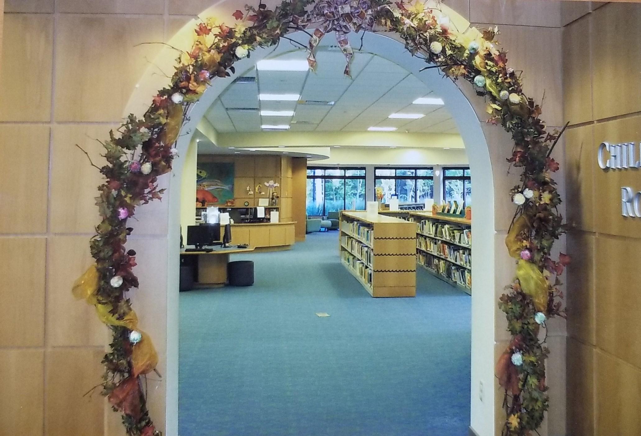 Fall Display in Kids Department