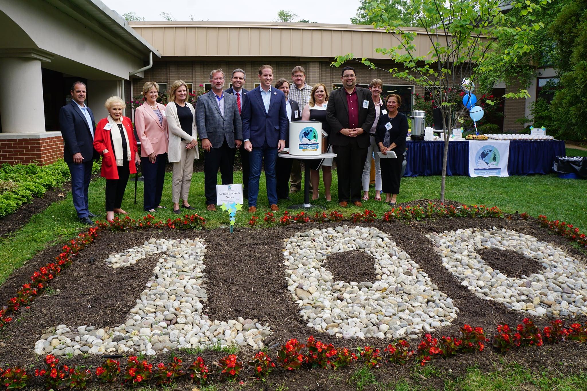 Board Members on Centennial Celebration Day